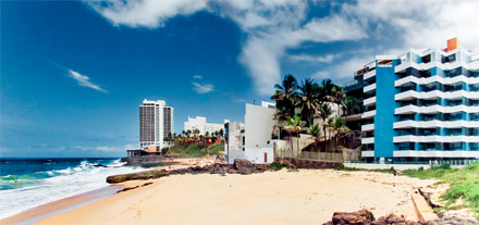רצועת חוף תיירותית בברזיל. צילום: sxc.hu