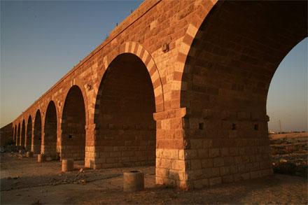 """גשר טורקי בבאר שבע. צילום: יח""""צ"""