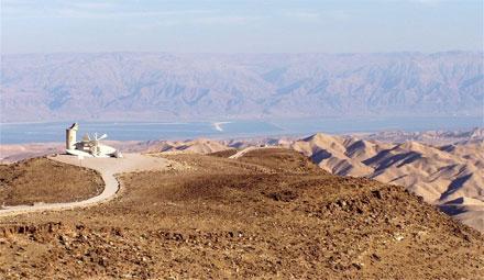 """נוף מדברי מדהים, צילום: יח""""צ"""