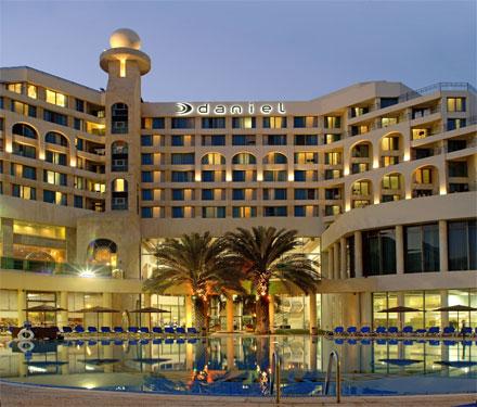 """מלון דניאל ים המלח. צילום: יח""""צ"""