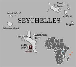 מפת איי סיישל