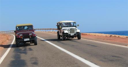 בדרך לטיול ג'יפים קבוצתי. צילום: sxc.hu